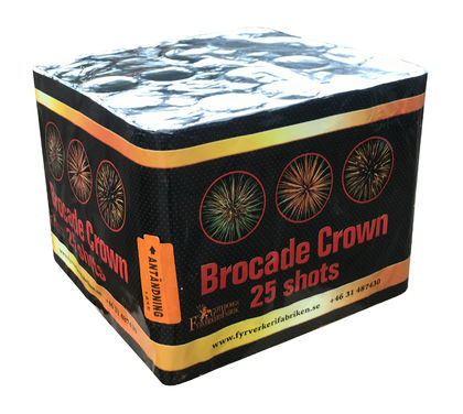 Super Brocade crown 25's